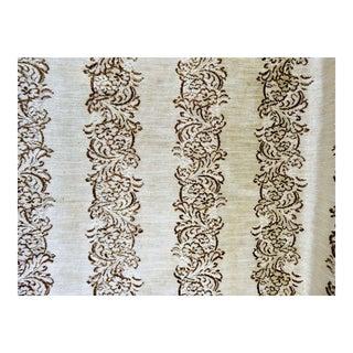 Burnout Velvet Upholstery Fabric - 8 Yards For Sale