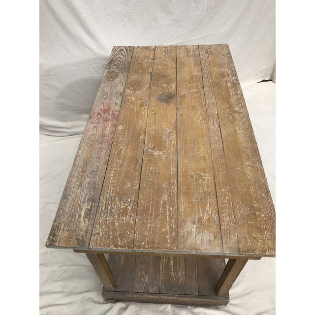 Antique Southern Primitive Work Tables - a Pair For Sale - Image 11 of 13