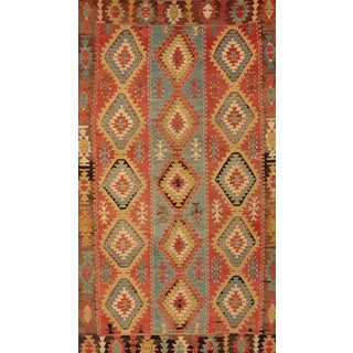 Early 20th Century Turkish Kilim Wool Rug -6″ × 10″