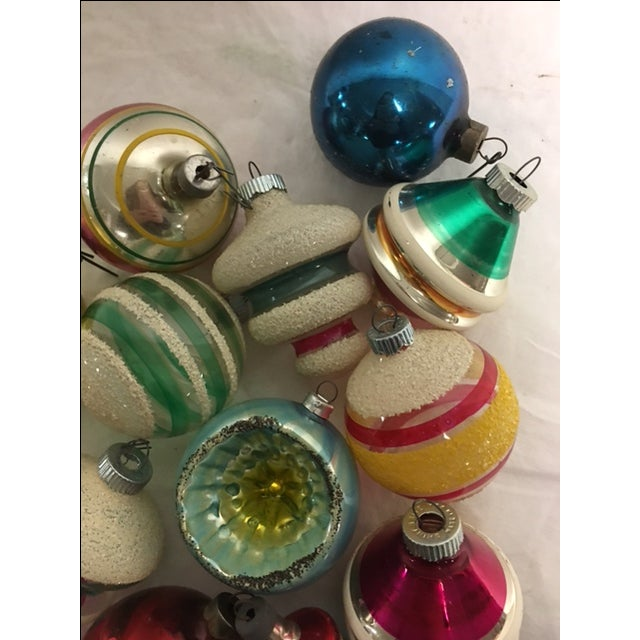 Vintage Assorted Christmas Ornaments - Set of 12 - Image 5 of 8