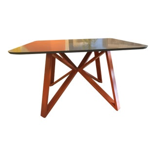 Mid-Century Modern Quartz Dining Table For Sale