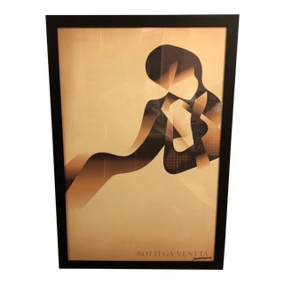 "Modern ""Bottega Veneta"" Fashion Poster For Sale"