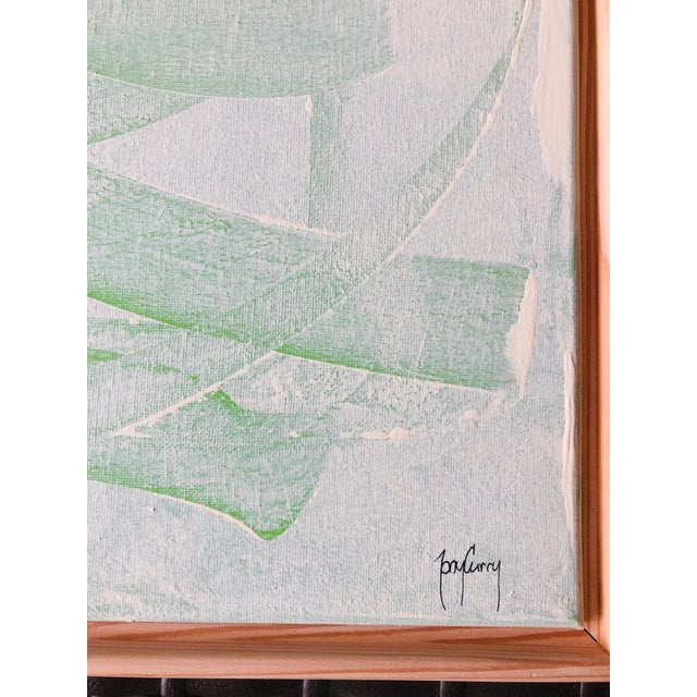 """MAKE AN OFFER! LET'S GET THIS BEAUTIFUL Original PAINTING ON YOUR WALL. Title: """"Green Mirage"""". Original Abstract Painting..."""