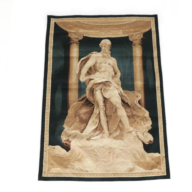 Silk 19th Century Mythological Tapestry For Sale - Image 7 of 7