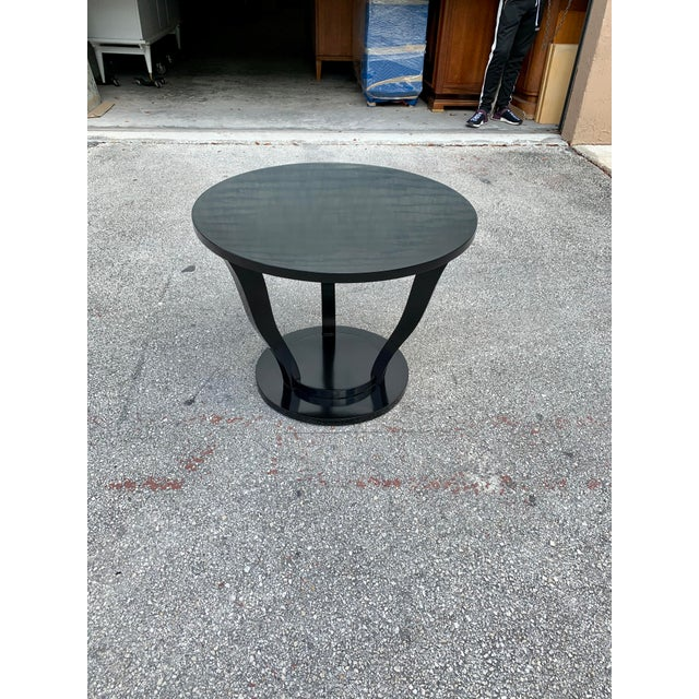1940s Vintage Classic French Art Deco Accent Table For Sale In Miami - Image 6 of 13