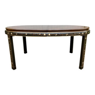 1970s Chinoiserie Style Drexel Heritage Dining Table