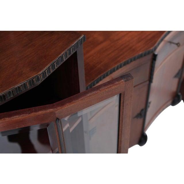 Brown Amsterdam School Mahogany Sideboard by Atelier Speelman For Sale - Image 8 of 12