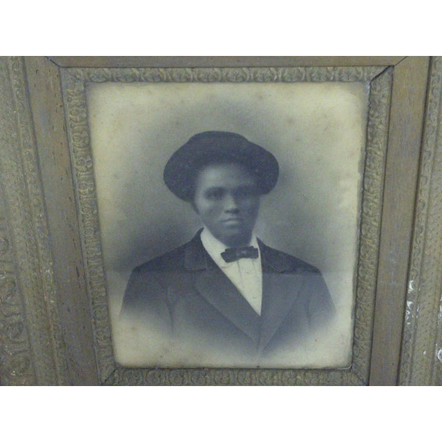 Early American Mrs. Robert Lee Vann Vintage Photograph Circa 1890 For Sale - Image 3 of 6