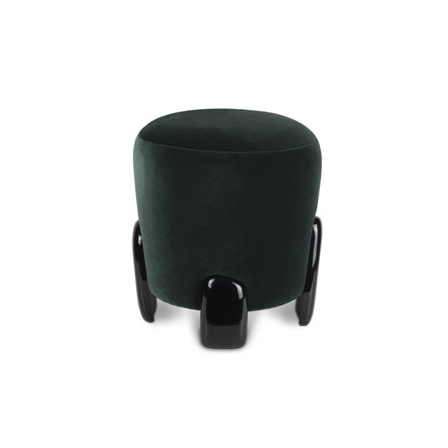 Green Noaki Stool From Covet Paris For Sale - Image 8 of 8