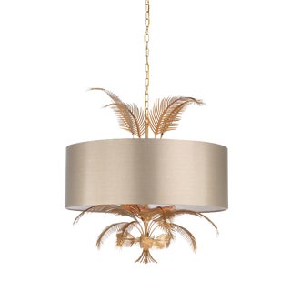 Wild Palm Chandelier, Large For Sale