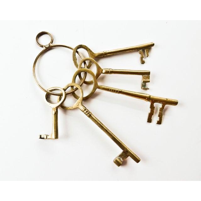 Vintage Brass Skeleton Keys - Image 3 of 9