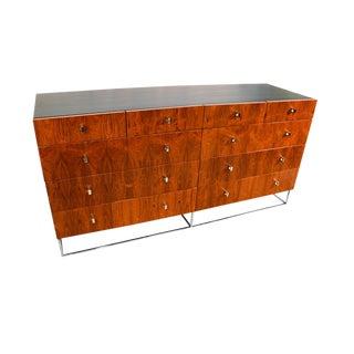 Milo Baughman Style Brazilian Rosewood Dresser by Roger Rougier
