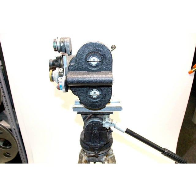 1930s Celeb Owned Circa 1930 Movie Camera 35MM Bell and Howell As Sculpture For Sale - Image 5 of 8