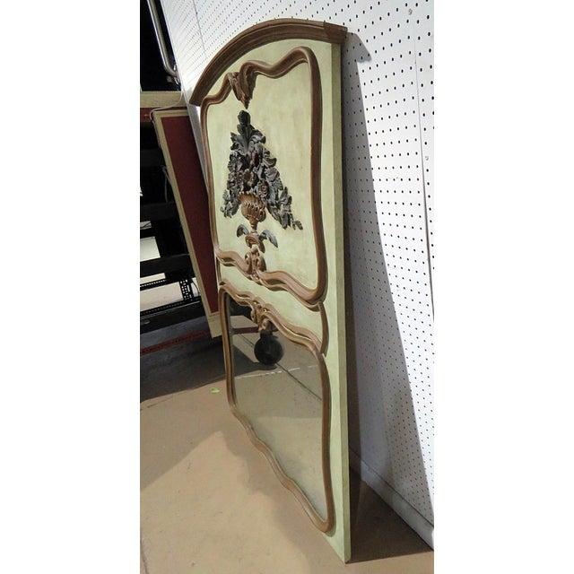 Italian Italian Trumeau Wall Mirror For Sale - Image 3 of 6