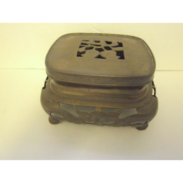 Large Oriental Incense Burner - Image 5 of 11