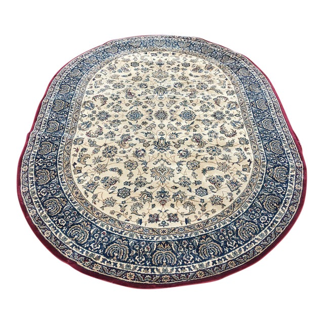 """Traditional Persian Floral Rug - 5'3"""" x 7'5"""" - Image 1 of 6"""