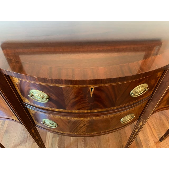 Traditional Federal Councill Craftsmen Mahogany Sideboard For Sale - Image 3 of 13
