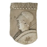 Image of Vintage Roman Wall Plaque Fragment For Sale