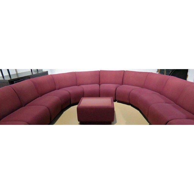 Mid-Century Modern Milo Baughman for Thayer Coggin 20 Piece Sectional For Sale - Image 3 of 8