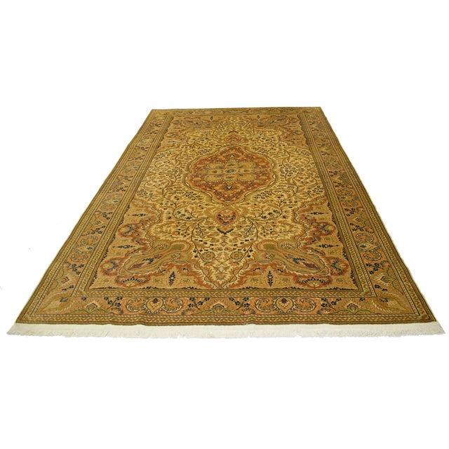"Vintage Kayseri Carpet - 6'5"" X 9'6"" - Image 4 of 4"