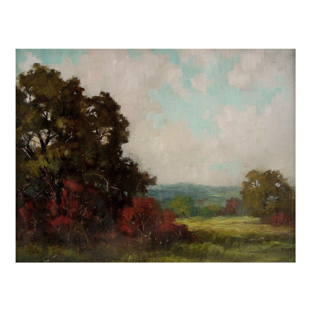 Impressionist Landscape by Dan Burt For Sale