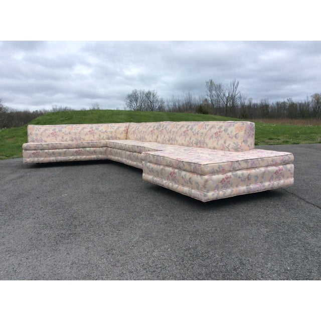 Harvey Probber Harvey Probber Vintage Sectional Sofa with Table For Sale - Image 4 of 11