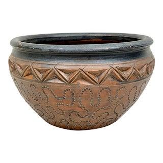 Vintage Handmade Bowl For Sale