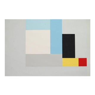 "Modernist Lithograph of Ben Nicholson's ""June 1937"" For Sale"