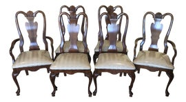 Image of Cherry Wood Dining Chairs