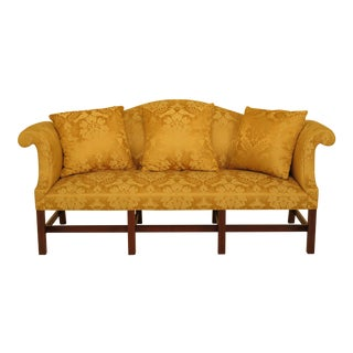 Kittinger Damask Cw-129 Colonial Williamsburg Sofa