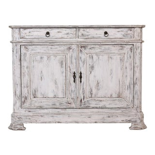 French Louis Philippe-style Distressed Buffet
