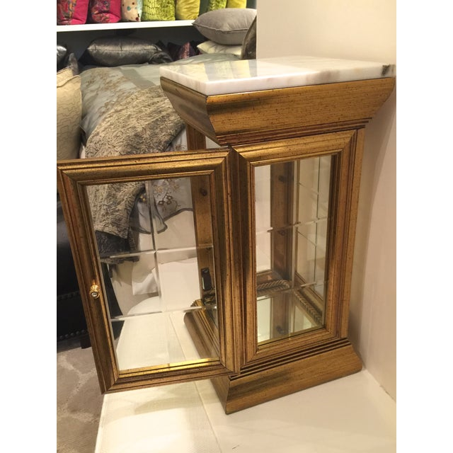 Marble Top Display Cabinet - Image 6 of 7