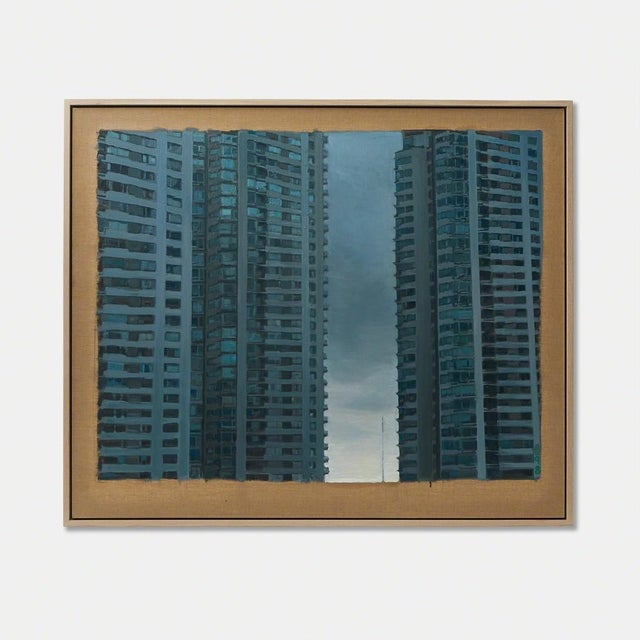"""Modern """"*98"""" by JMARY For Sale - Image 3 of 3"""