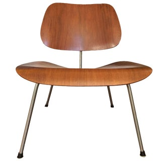 Early Rare Teak Lcm by Charles Eames for Herman Miller For Sale
