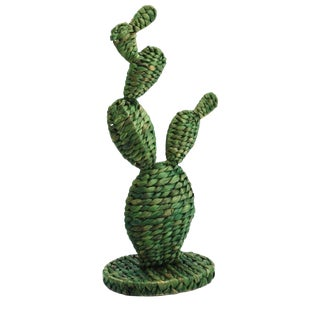 Woven Cactus Sculpture For Sale