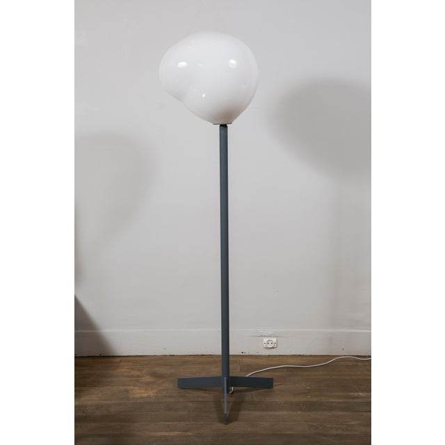 "Gray ""Nubes"" Floor Lamp, Galerie Blanchetti Edition 2018 For Sale - Image 8 of 8"
