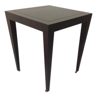 Donghia Madrid Square Side Table For Sale