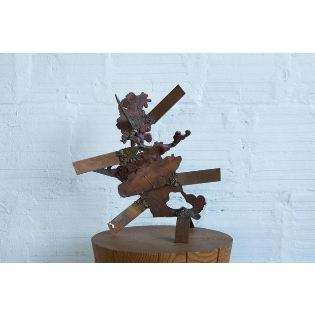 Abstract Tom Hardy Copper Sculpture For Sale - Image 3 of 9
