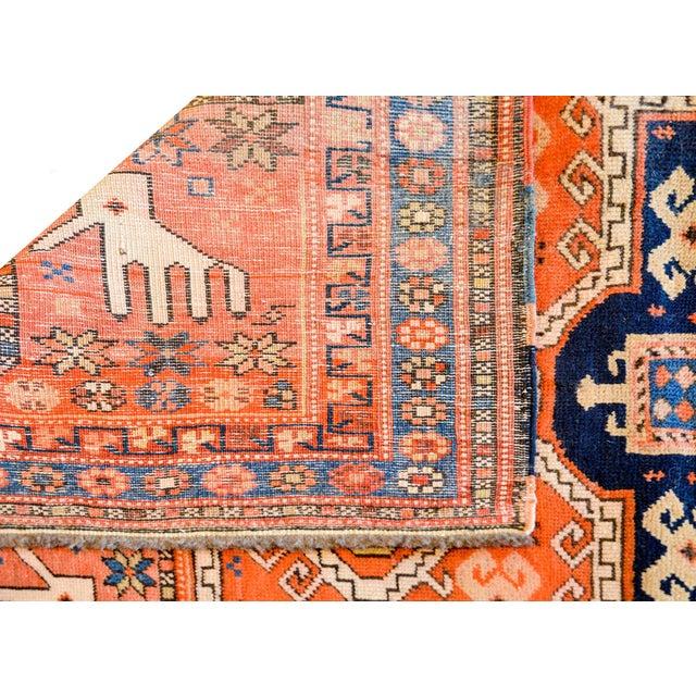 Wonderful Early 20th Century Kazak Prayer Rug For Sale - Image 9 of 10
