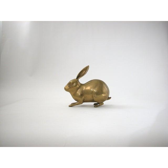 Large Vintage Brass Rabbit - Image 7 of 7