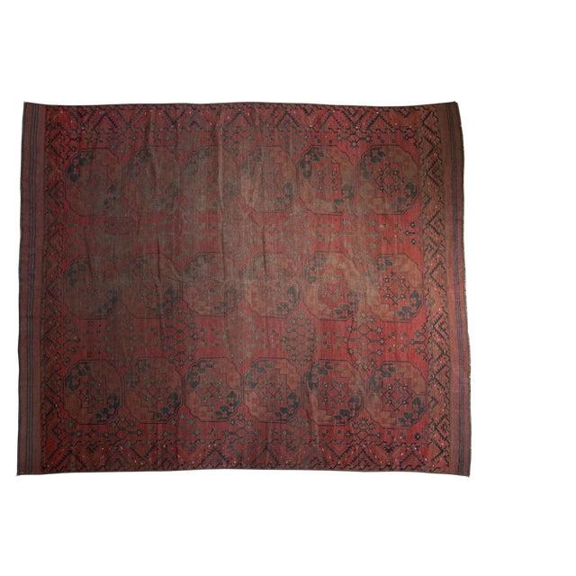 "Vintage Ersari Carpet - 8'2"" X 9'8"" For Sale"