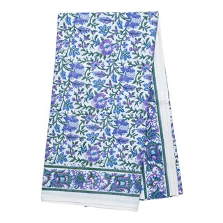 Aria Tablecloth, 4-seat table - Lavender & Blue For Sale