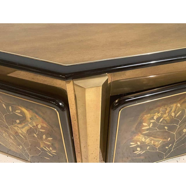 Late 20th Century Mid-Century Modern Mastercraft Tree of Life Console or Sideboard For Sale - Image 5 of 13