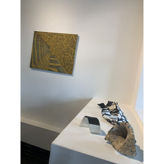 Contemporary Contemporary Abstract Sculpture Pinar Aral Möbius Strips For Sale - Image 3 of 4