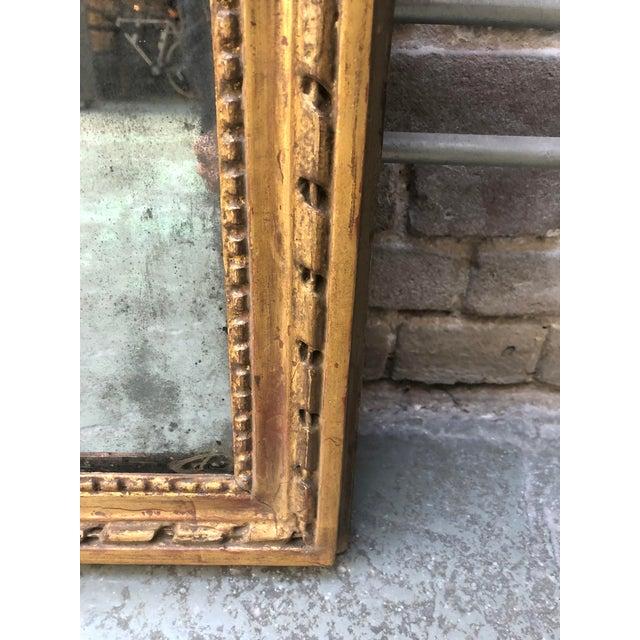 Louis XVI , 18th Century Mirror For Sale - Image 4 of 7
