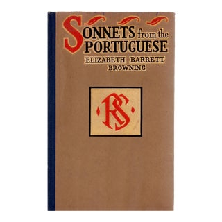 "1909 ""Sonnets From the Portuguese"" Book"