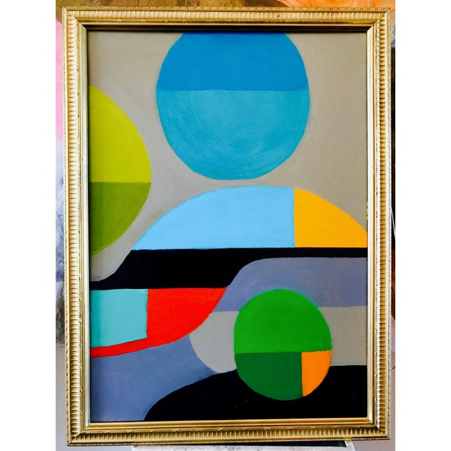 Original Abstract Expressionist Painting - Image 2 of 7