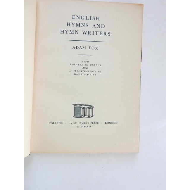 English English Hymns & Hymn Writers Book For Sale - Image 3 of 9