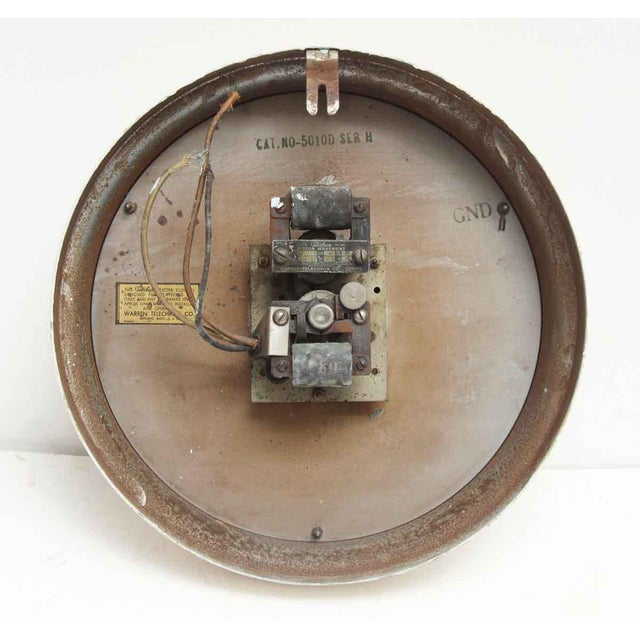 Vintage Painted Telechron Clock For Sale - Image 5 of 8