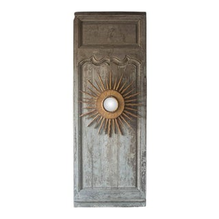 18th Century French Panel Door With Soleil